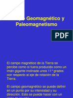 Campo Geomagnético y Paleomagnetismo