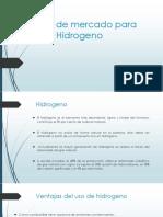 Estudio de mercado del hidrogeno