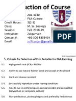 Fisheries Fish Culture (Dr. Samee)