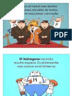 Afiches Divertidos Elementos Químicos