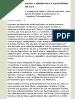 Antologia de documentos e estudos sobre a espiritualidade de S. Nuno de Santa Maria | Secretariado N