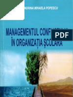 Managementul conflictului in organizatia scolara