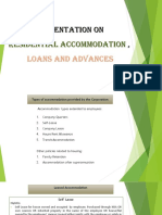Final PPT for HBA, Loans and Advances 1