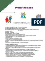 5 Proiect Tematic Eu Si Lumea Mea
