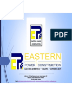 Eastern Power Construction Company Profile