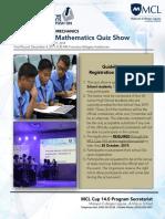 Mechanics- Intermediate Mathematics Quiz Show