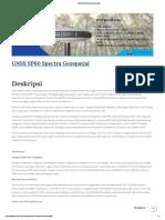GNSS SP60 Spectra Geospatial