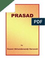 Prasad by Swami Akhandanand-ji Saraswati