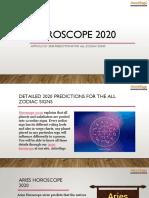 2020 Horoscope - Astrology 2020 Predictions