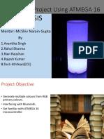 Based Project Using ATMEGA 16