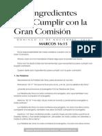 Cumplir la Comision