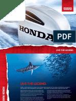 Honda Marine Range Catalogue 2012