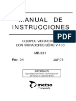 Manual Instrucciones MB 231 4c
