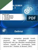 Alzheimer Kel II