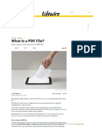 what is pdf file