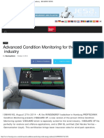 Advanced Condition Monitoring for the Wind Energy Industry - BEARING NEWS