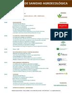 III Encuentro Sanidad Agroecológica - Programa Deff