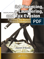 Terrorist Financing, Money Laundering, And Tax Evasion; Examining the Performance of Financial Intelligence Units (Jayesh D'Souza)