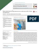 Heavy Metal Removal Using Nanoscale Zero-Valent Iron (NZVI)