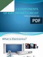 Lesson 3(Componente Resistors)