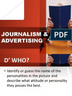 Journalism & Advertising