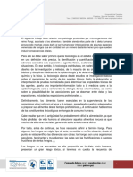 Constituyentes Toxicológico en Hongos de Consumo Humano