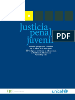 Unicef 2010 Justicia Penal Juvenil