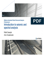 Webinar N°7 Introduction to seismic and spectral analysis