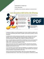 7 Pasos Del Exito de Disney