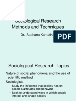 Sociological Research Methods13