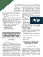 Aprueban El Reglamento de La Ley n 29889 Ley Que Modifica Decreto Supremo n 033 2015 Sa 1296283 1