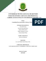 Contabilidad Gubernamental e Intermedia