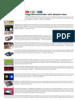 Advanced View of Atmega Microcontroller 1673 Projects List - Nov 2019 ATMega32 AVR