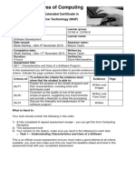 assignment 1 - sd1 - characteristics and uses of a software program  1