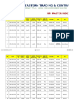 RFI Master Index (July 04, 2011)