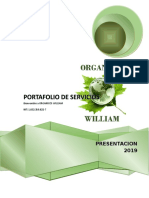 Portafolio de Servicios Organicos William Malagon