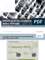 Technical Slides SIIRIUS IE3ready ES