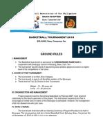 Basketball Tournament 2018