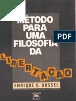 Método para uma Filosofia da Libertação - Enrique Dussel
