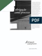 Obrigação Como Processo - Clóvis do Couto e Silva