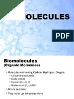 Biomolecules Sc