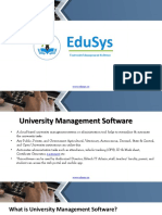 University Management System Software ERP Modules Features.pptx