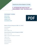 Prospectous for Management Courses 200shi3 Format