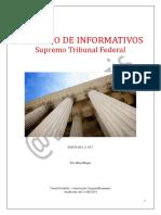 Caderno de Informativos STF - 851 a 927 - 22.08.2019 (1)
