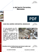 Caso Barrio Cervantes - Manizales
