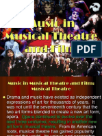 Musical Theater and Film