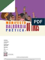 Manifesto Balbúrdia Poética