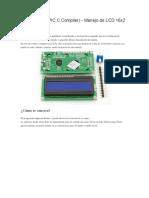 uso de LCD