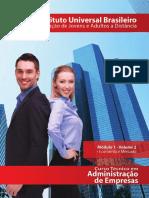 Adm de Empresas - Mod 01 - Vol 02