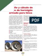 Diseño y cálculo de tubos de hormigón armado para hinca.pdf